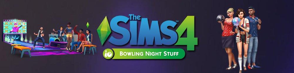 The Sims 4 Bowlingový večer banner