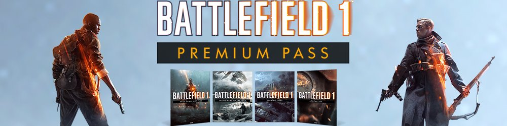Battlefield 1 Premium Pass banner
