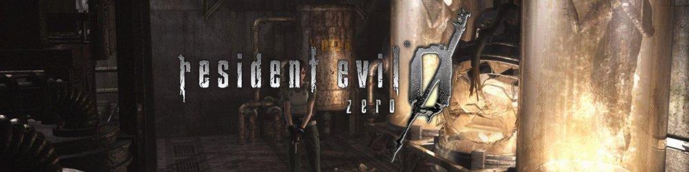 Resident Evil 0 banner