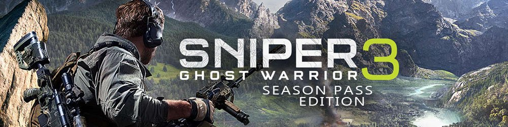 Sniper Ghost Warrior 3 Season Pass Edition banner