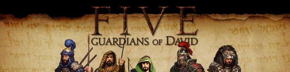FIVE Guardians of David banner