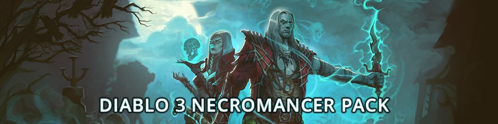 Diablo 3 Rise of the Necromancer Pack banner