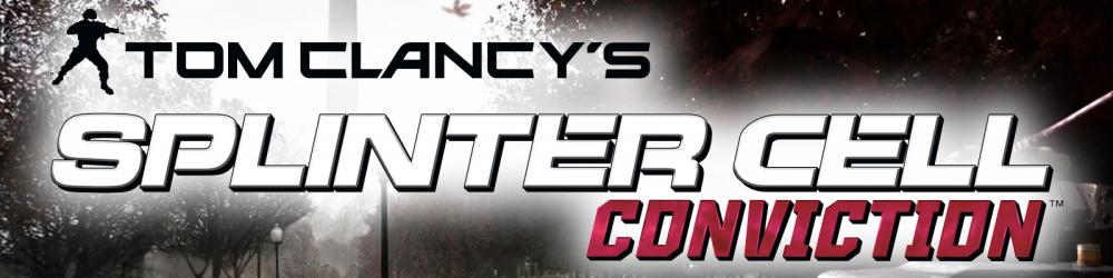 Tom Clancys Splinter Cell Conviction banner