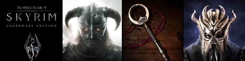 The Elder Scrolls V Skyrim Legendary Edition banner