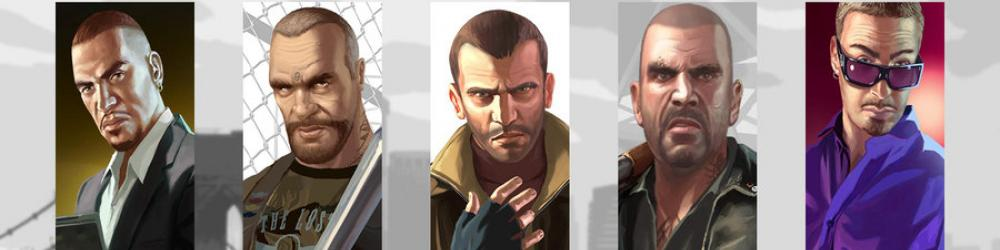 Grand Theft Auto Episodes from Liberty City, GTA 4 EFL banner