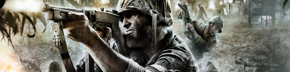 Call of Duty 5 World at War Steam banner