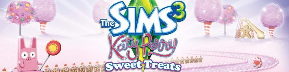 The Sims 3 Sladké Radosti Katy Perry banner
