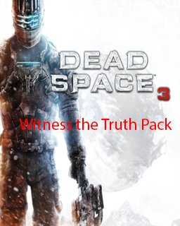Dead Space 3 Witness the Truth Pack DLC krabice