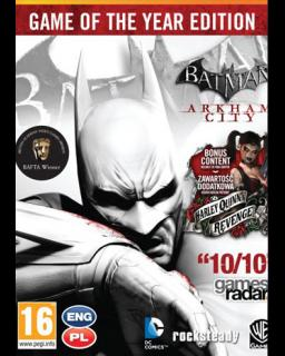 Batman Arkham City Game of the Year Edition krabice