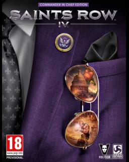 Saints Row IV Commander In Chief DLC Pack krabice