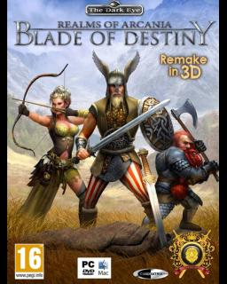 Realms of Arkania Blade of Destiny krabice