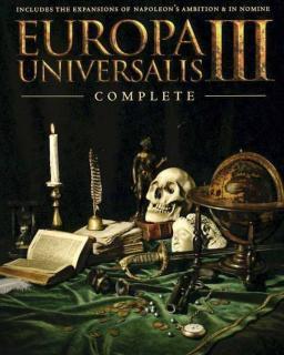 Europa Universalis III Complete krabice