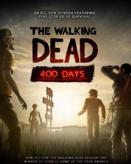 The Walking Dead 400 Days krabice