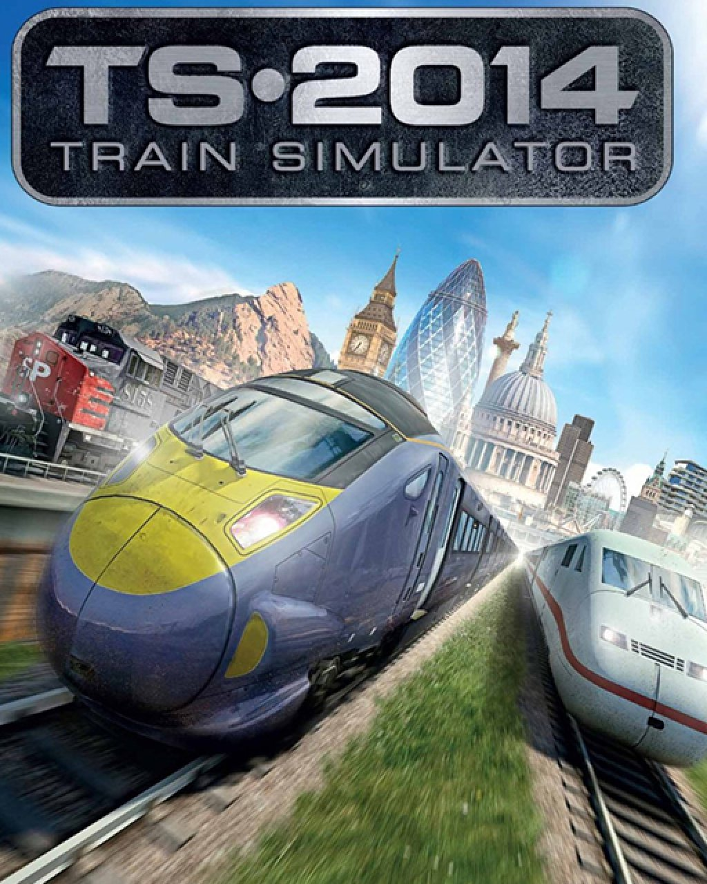 Train Simulator 2014 krabice