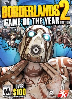 Borderlands 2 Game of the Year Edition krabice
