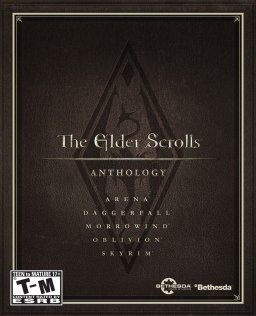 The Elder Scrolls Anthology krabice