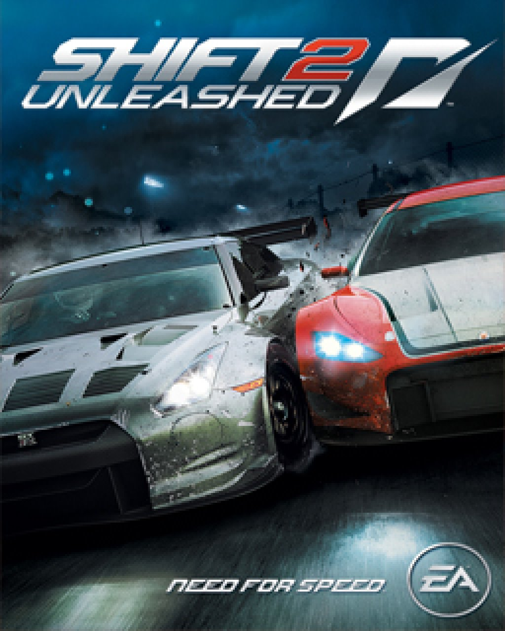 Need for Speed Shift 2 Unleashed krabice