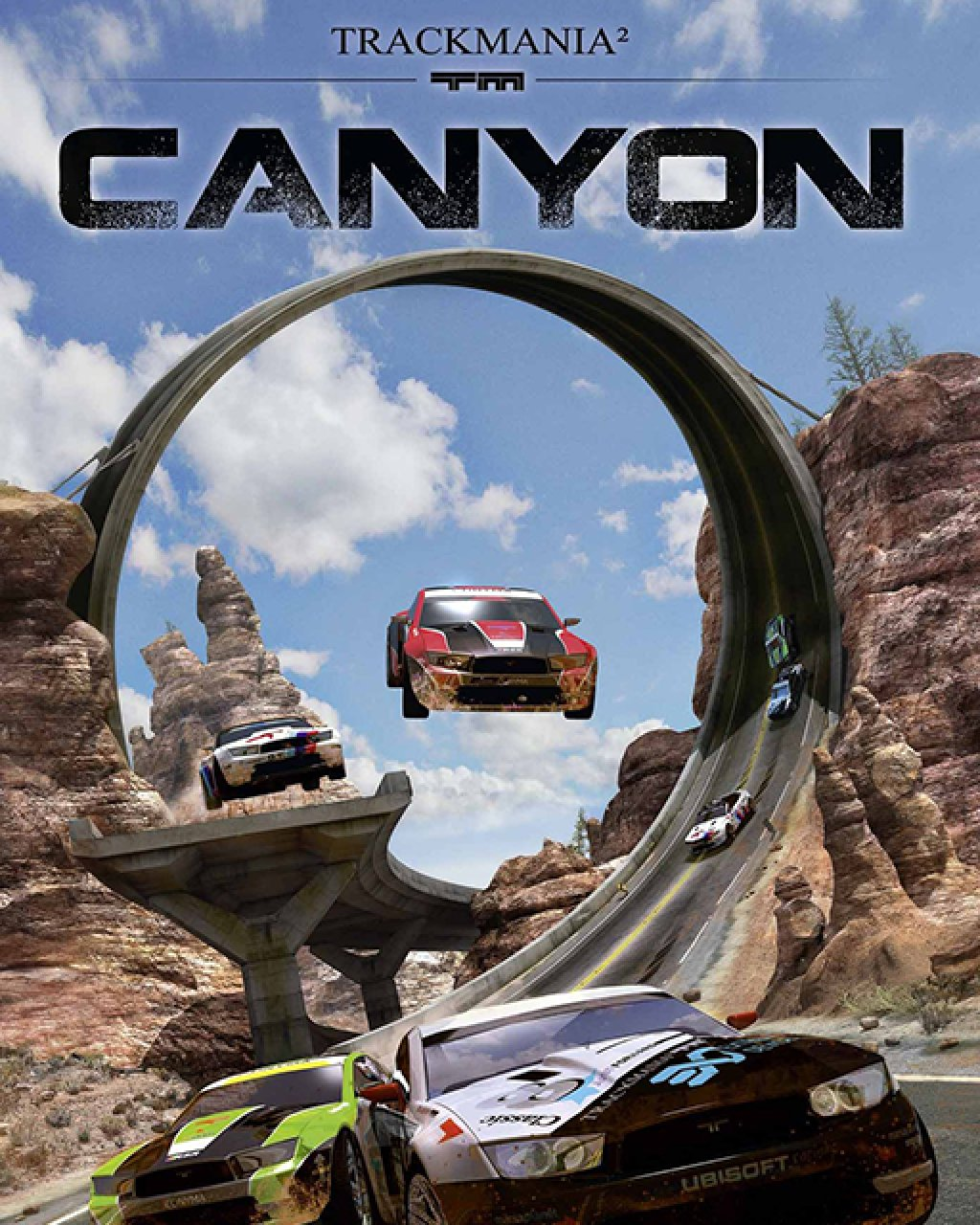 TrackMania 2 Canyon krabice