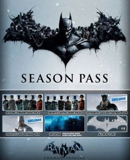 Batman Arkham Origins Season Pass krabice