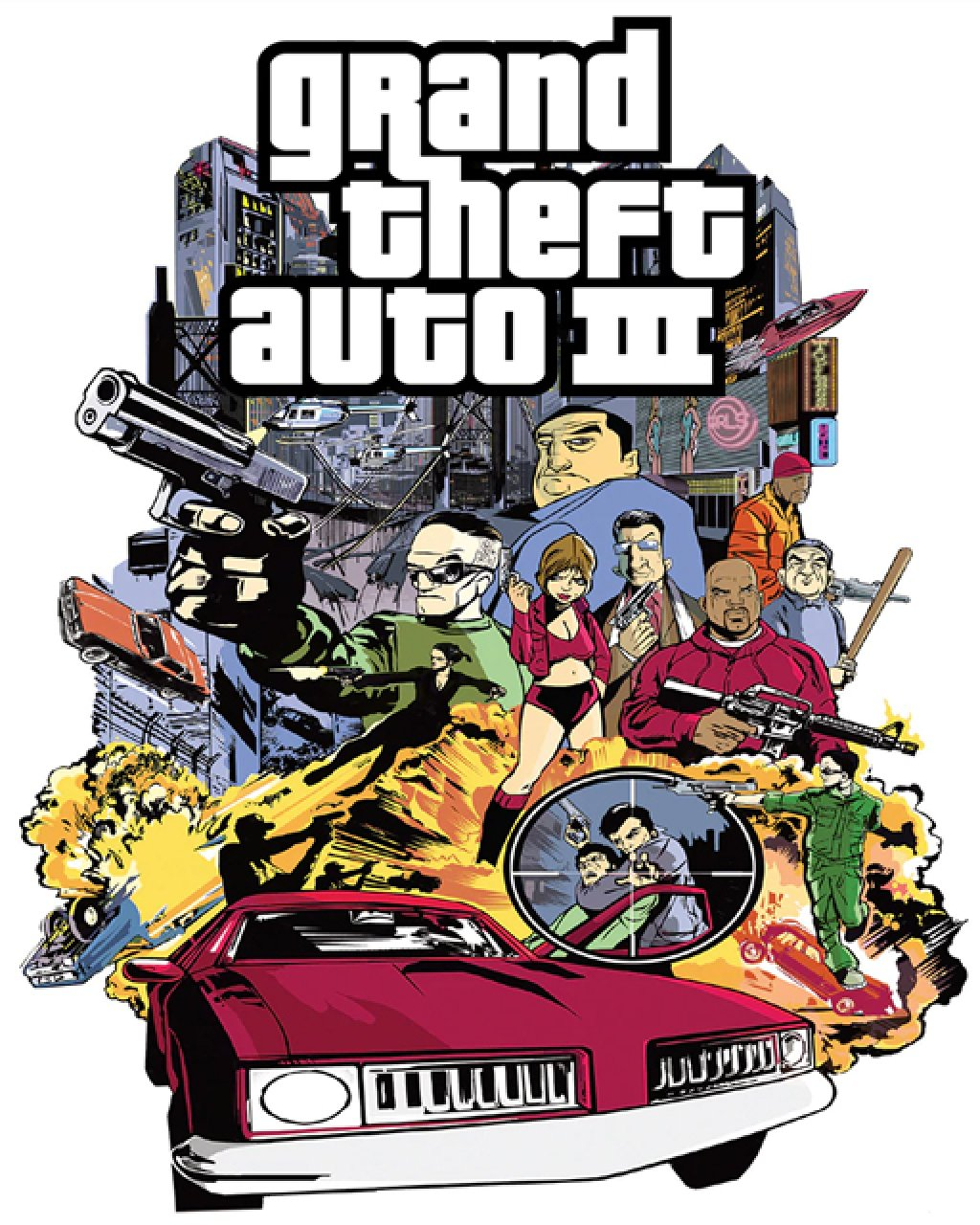 Grand Theft Auto III, GTA 3 krabice