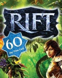 Rift 60 dní předplacená karta krabice