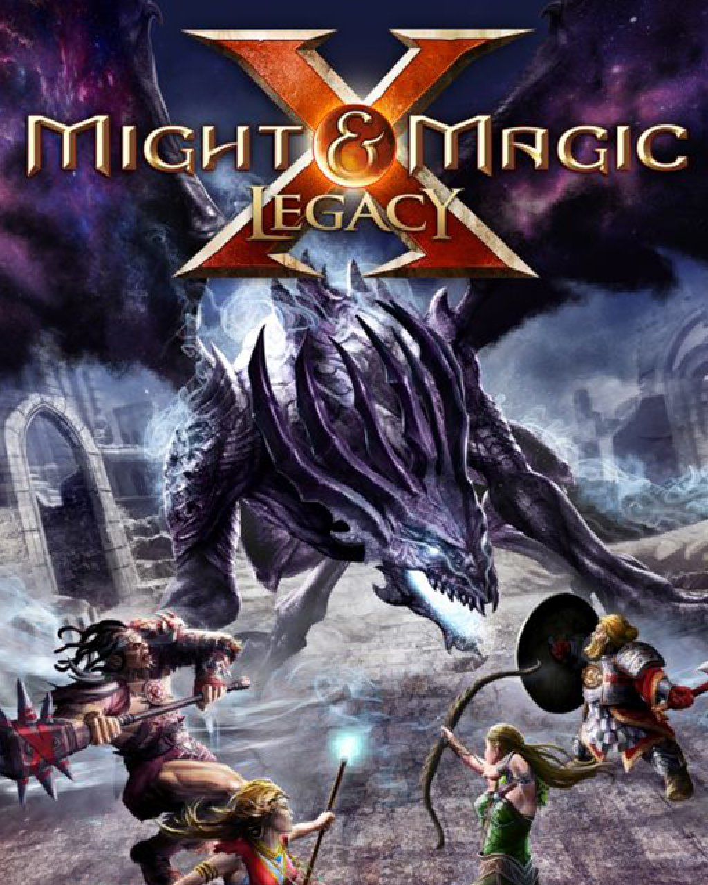 Might and Magic X Legacy Deluxe Edition krabice