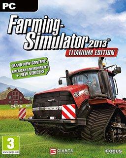 Farming Simulator 2013 Titanium Edition krabice