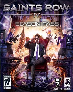 Saints Row IV Season Pass krabice