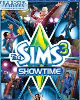 The Sims 3 Showtime krabice