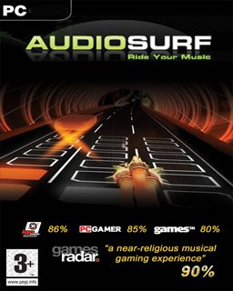 AudioSurf krabice