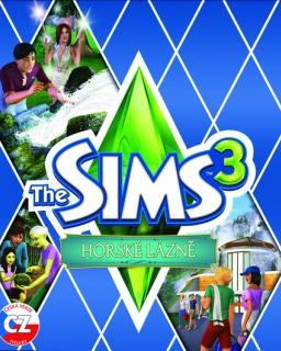 The Sims 3 Horské Lázně krabice