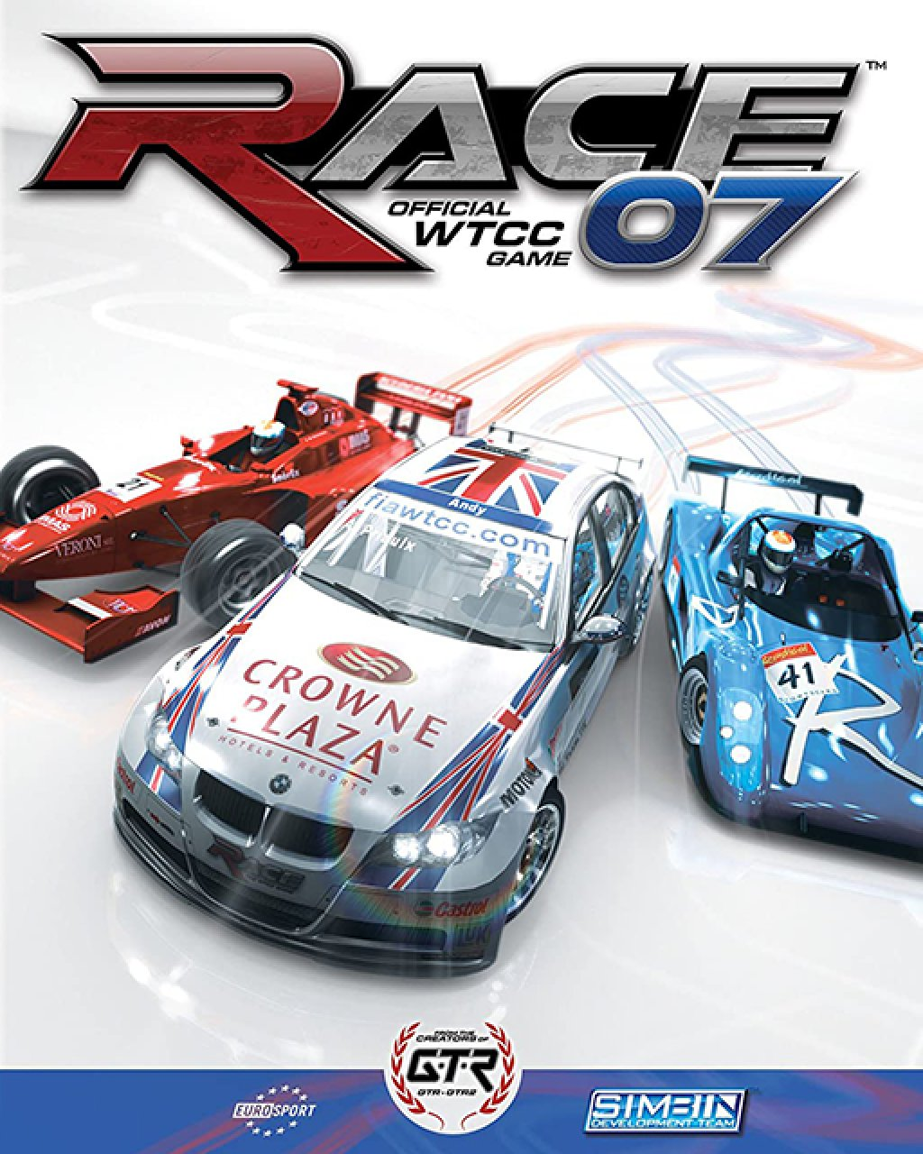 RACE 07  GTR Evolution Expansion Pack krabice