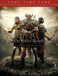 The Elder Scrolls Online 60 Dní předplacená karta krabice