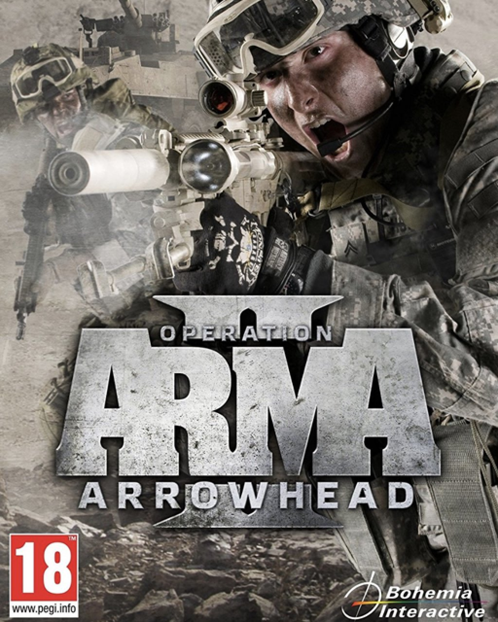 Arma II Operation Arrowhead, Arma 2 krabice