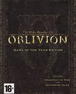 The Elder Scrolls IV Oblivion Game of the Year Edition krabice