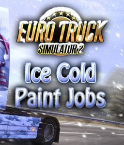 Euro Truck Simulátor 2 Ice Cold Paint Jobs Pack krabice