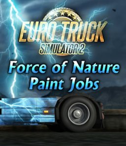 Euro Truck Simulátor 2 Force of Nature Paint Jobs Pack krabice