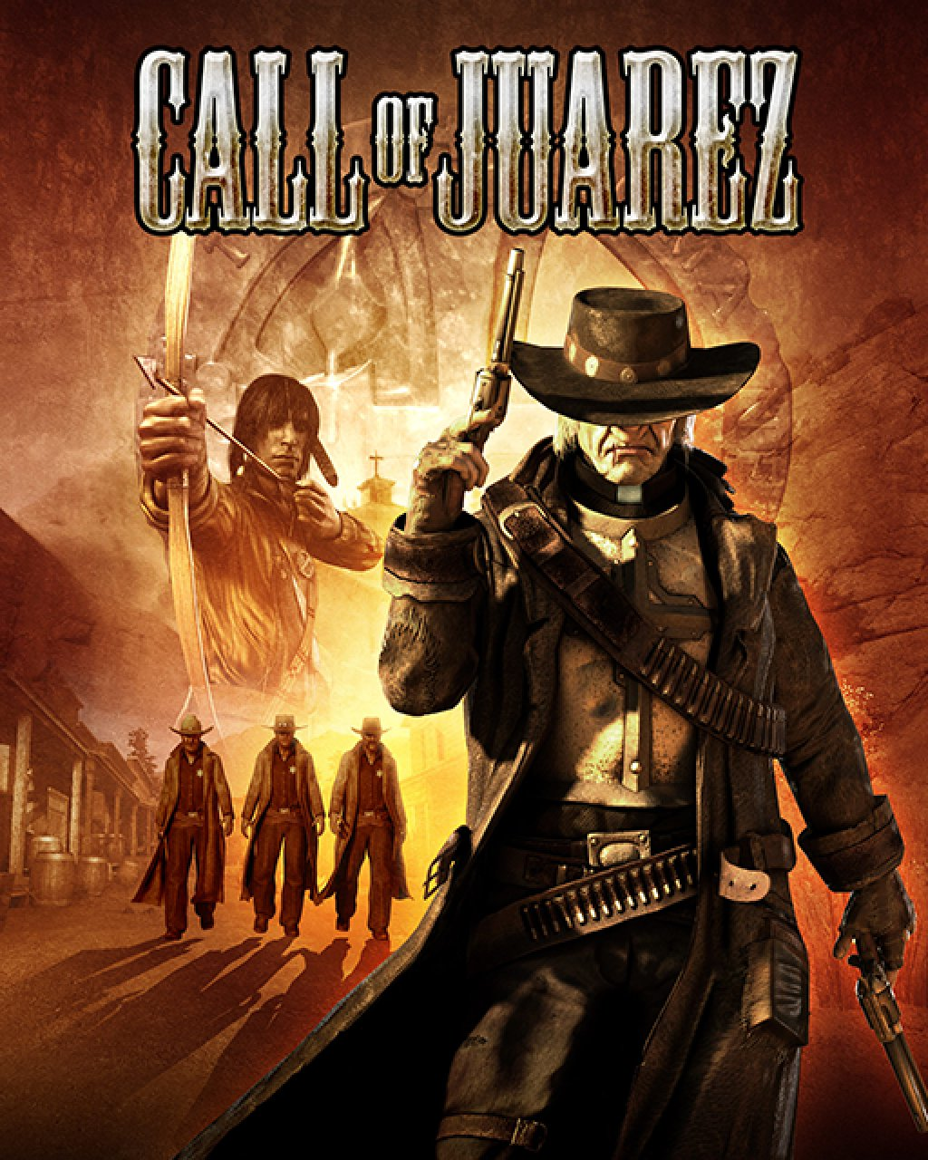 Call of Juarez krabice