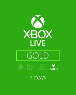 Xbox Live Trial Gold 7 dní