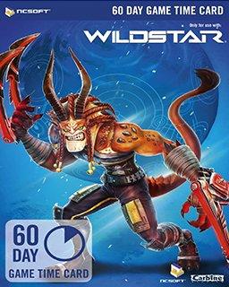 Wildstar EU 60 Dní předplacená karta krabice