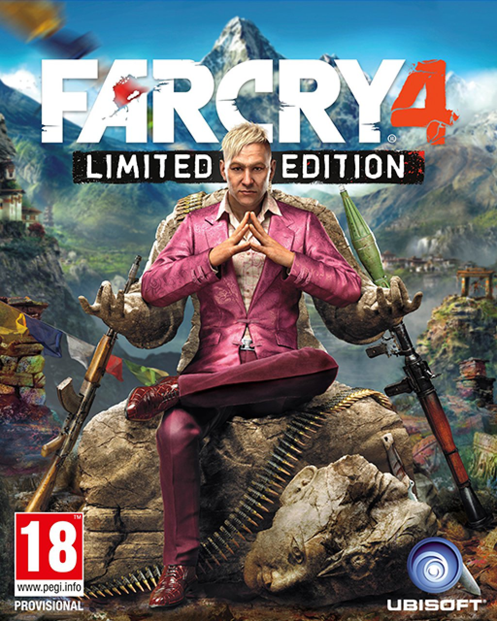 Far Cry 4 Limited Edition krabice
