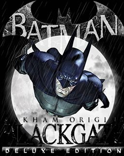 Batman Arkham Origins Blackgate Deluxe Edition krabice
