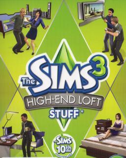 The Sims 3 Luxusní bydlení krabice