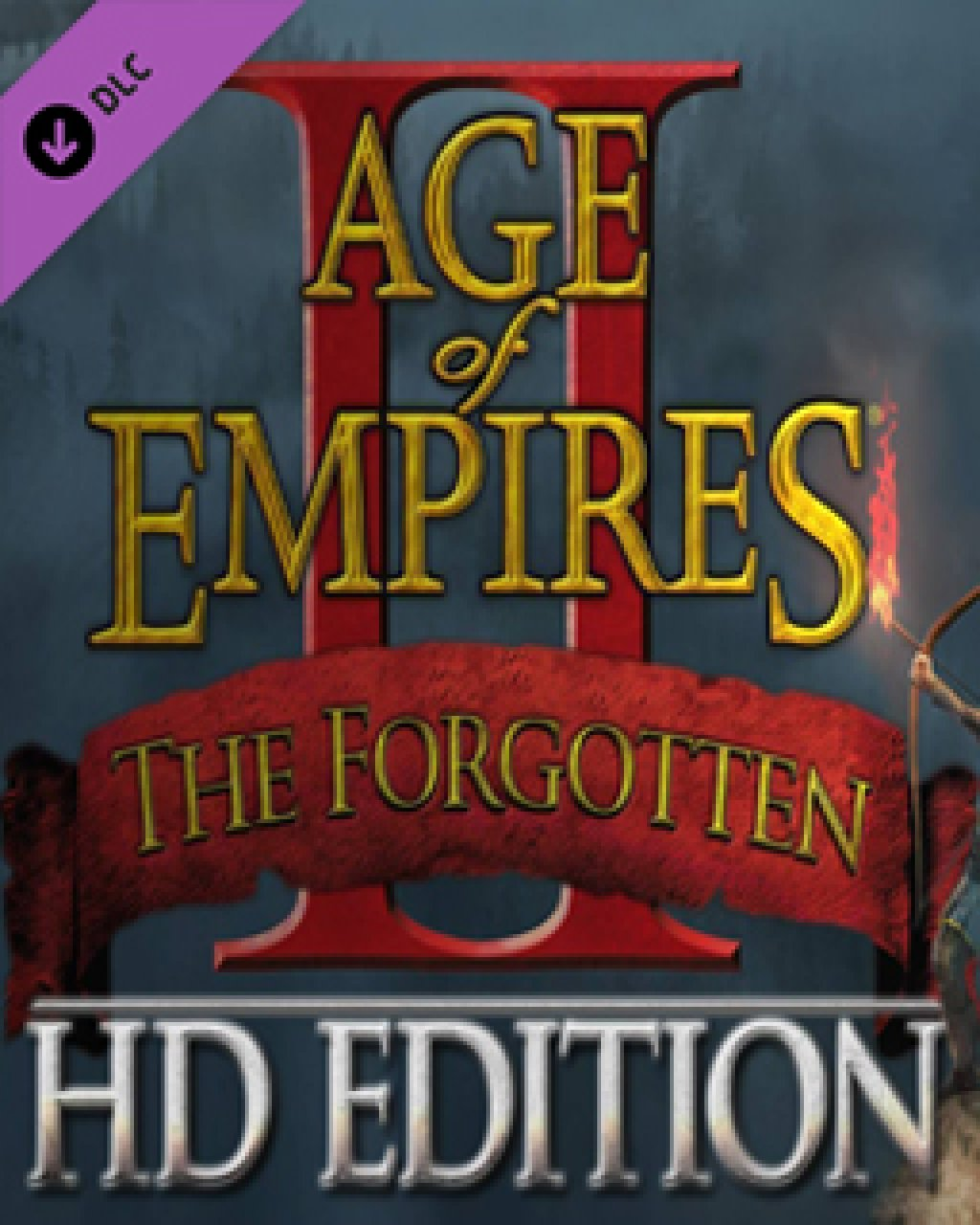 Age of Empires II HD The Forgotten krabice