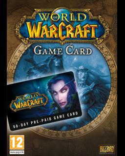 World of Warcraft EU 60 Dní předplacená karta krabice