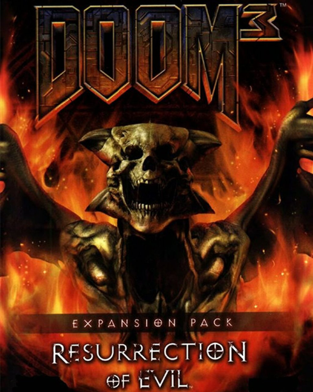 Doom 3 Resurrection of Evil krabice