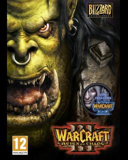 Warcraft 3 + Frozen Throne krabice