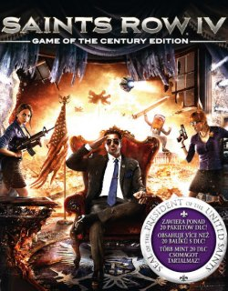 Saints Row IV Game of the Century Edition krabice