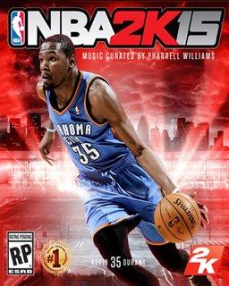 NBA 2K15 krabice