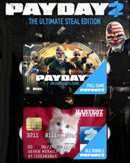 PayDay 2 The Ultimate Steal Edition krabice